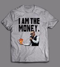 1e0a572e4 CONOR MCGREGOR IRELAND I AM THE MONEY **UFC OLDSKOOL CUSTOM** T-