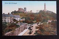 Vintage Valentine Tinted Postcard - CALTON HILL ~ EDINBURGH - Unposted VGC