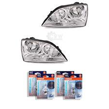 Scheinwerfer Set für Kia Sorento I (JC) Bj. 02-06 inkl. Osram H7+H1+Stellmotor