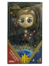 Hot Toys Cosbaby Captain Marvel Collectible Figure Flying Version New In Box