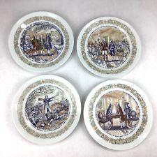 Set Of 4 D'Arceau-Limoges Lafayette Legacy Plate Collection