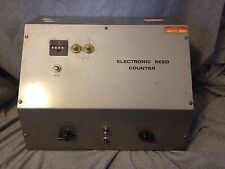 Vintage Used Audiotronics Electronic Seed Counter - PARTS/RESTORE