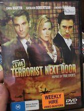 The Terrorist Next Door ex-rental region 4 DVD (2008 drama movie)