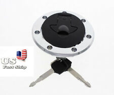Fuel Gas Tank Cap Cover Keys For Kawasaki Ninja 250/250R ZX-6R ZX-9R ZX-10R USA