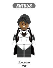 MONICA  RAMBEAU SPECTRUM Wanda Vision Minifigure New Marvel DC Comics lego MOC