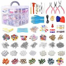 Jewelry Making Supplies Kit, 2456pcs Earrings and Repair Tool Kits with