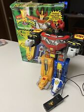 Vintage Electric Megazord  Power Rangers 15 Inch *With Box* Missing Parts 5509