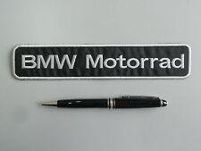 BMW MOTORRAD PATCH TOPPA  RICAMATA TERMOADESIVA CM 20X4