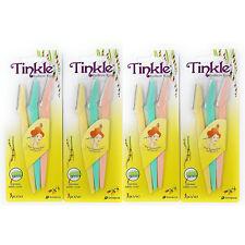 TINKLE EYEBROW RAZOR STAINLESS STEEL BLADE BROW SHAPER 12PCS
