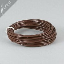 20 AWG Brown Hook Up Lead Wire Stranded 25 ft UL1015, 600V AWM MTW TEW