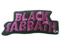 Heavy Metal Punk Rock Música Coser/Parche con Plancha Black Sabbath Dark Morado