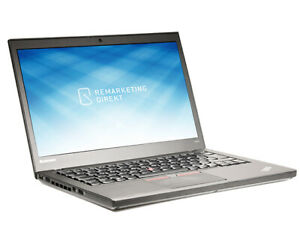 "Lenovo ThinkPad T450 - 14"" (35,6 cm) i5-2,30 GHz 8 GB 250 GB SSD Webcamera W10P"