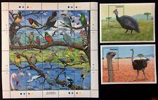 Tanzania 1989** Mi.523-42 + Bl.86, 87. Birds [20;57]