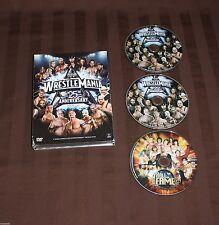 WWE WRESTLEMANIA 25 (DVD, 3 disc set 2009) UNDERTAKER