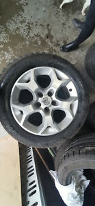 GENUINE VAUXHALL ASTRA 16 INCH ALLOY WHEEL WITH TYRE 6-7 MM SPARE REPLACE 001