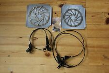SRAM Guide RS Brakeset with Centerlock 200/180mm rotors - used