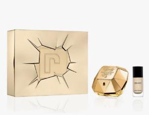 Paco Rabanne Lady Million 50ml EDP Spray Perfume + Nail polish (2pc Gift Set)