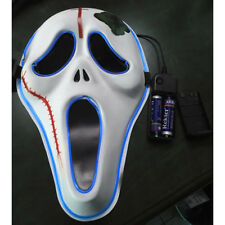 Halloween Party Cosplay Skull Mask Flash Party Mask Ghost Scary Mask
