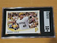 2013 Topps Update US150 Yellow Hat Gerrit Cole RC SGC 10 Rookie