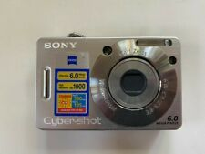 Sony Cyber-shot DSC-W50 6.0MP Digital Camera - Silver. Battery with Charger