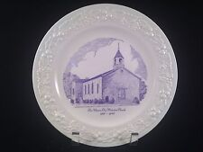 VINTAGE HOMER LAUGHLIN MARTIN KENTUCKY METHODIST CHURCH COLLECTOR PLATE