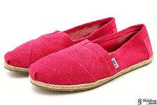 Toms SPECTRA Espadrilles Womens 11 B Ballet Flats Classics Suede Shoes Raspberry