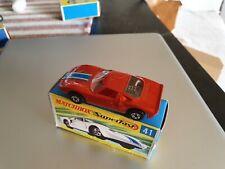 Rare Matchbox Superfast  #41 Ford G.T Bronze
