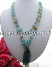 R101202 Agate&Crystal Necklace