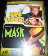 Dumb & Dumber & The Mask (Jim Carey) (Australia Region 4) DVD – Like New