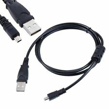 USB DC Charger Data SYNC Cable Cord For Panasonic Lumix DMC-ZS19 DMC-ZS35 Camera