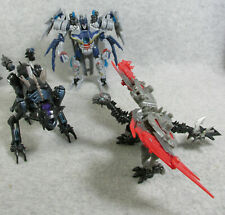 Transformers ROTF lot of 3 Soundwave Ravage Laserbeak deluxe class  loose