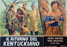 IL RITORNO DEL KENTUCKIANO  2^ edizione  FOTOBUSTA ORIGINALE
