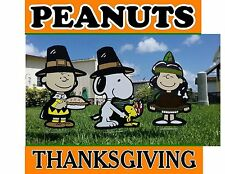Peanuts Snoopy Thanksgiving Outdoor Decorations