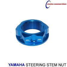 NEW YAMAHA MBO SPORT STEERING STEM NUT BLUE FOR YAMAHA YZ125 YZ250 2008