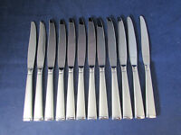 SET OF TWELVE - Oneida Stainless Flatware FROST Dinner Knives NEW