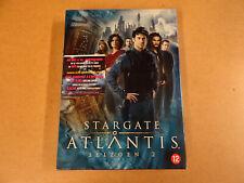 5-DISC DVD BOX / STARGATE ATLANTIS - SEIZOEN 2