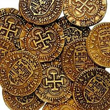 PIRATE COINS / TREASURE / GOLD EFFECT  / ** BUY 5 GET 1 FREE **