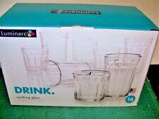 Luminarc Working Glass 16pc Beverage Set   (112770)
