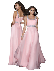 Women Sequin Formal Wedding Evening Ball Gown Party Prom Bridesmaid Dresses