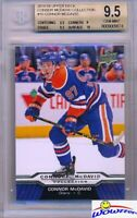 2015/2016 UD Connor McDavid Collection #10 ROOKIE BGS 9.5 GEM MINT Oilers !!