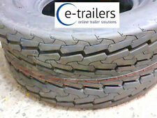 """20.5 x 8.0-10 10ply 10"""" DELI high speed floatation trailer tyre 95M - IFOR P6"""