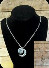 I Love You To The Moon and Back Necklace Pendant Gift NEW USA Seller!