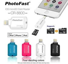 Photofast MFi CR-8800 SD MicroSD Lightning Card Reader for apple Iphone 6 Ipad