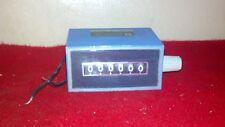 Redington Counters Inc. Electric 6 Digit Counter Manual Turn Reset 2-1006 21006