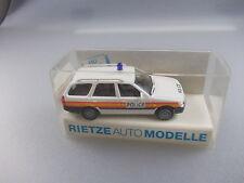 Rietze:Police GB  Polizei-Wagen Ford Escort Nr.50380 (GK7)