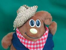 VINTAGE 1984 NESTLÉ MILKY CHOCOLATE CHIP COWBOY STRAW HAT PLUSH STUFFED MORSEL