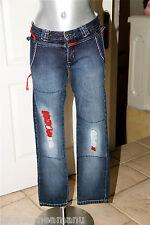 exceptionnel jeans slim MARITHÉ FRANCOIS GIRBAUD taille 36 SATISFAITE/REMBOURSÉE