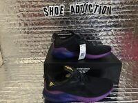 adidas Men's Alphabounce M Running Shoes Black/Solar Gold/Shock Purple Pick Size