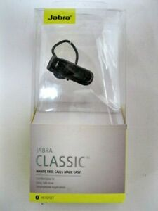 Jabra Classic Bluetooth Headset Control calls and music black 100-92300000-14