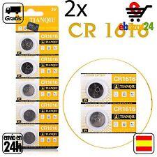 2x CR 1616 PILAS pila de botón baterías 3 V boton bateria CR1616 1616 DL1616 ECR
